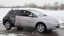 RobotCar is an iPad-controlled Nissan Leaf [videos]
