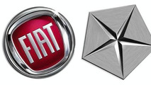 Fiat & Chrysler logos