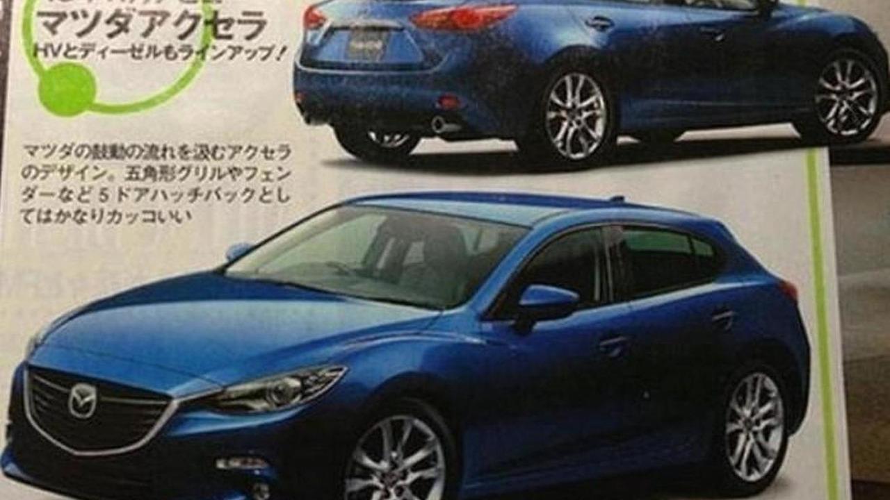 2014 Mazda3 leaked image? 03.6.2013