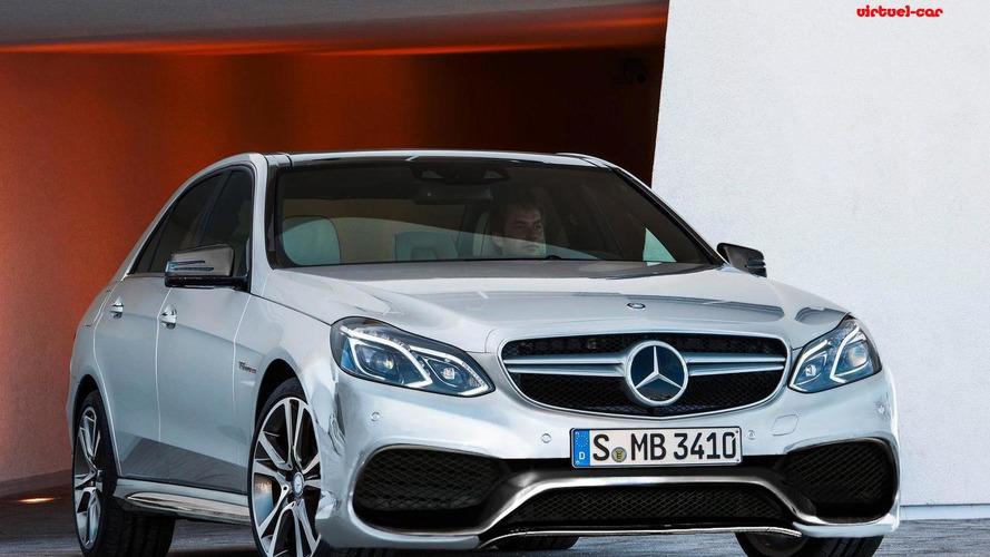 2014 Mercedes-Benz E63 AMG rendered