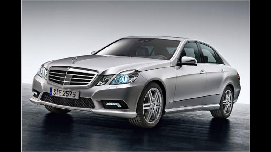 Neue Mercedes E-Klasse: Mit dem AMG-Paket individueller