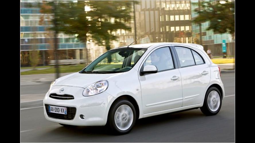 Diesel-Konkurrenz: Nissan Micra mit Kompressor-Benziner