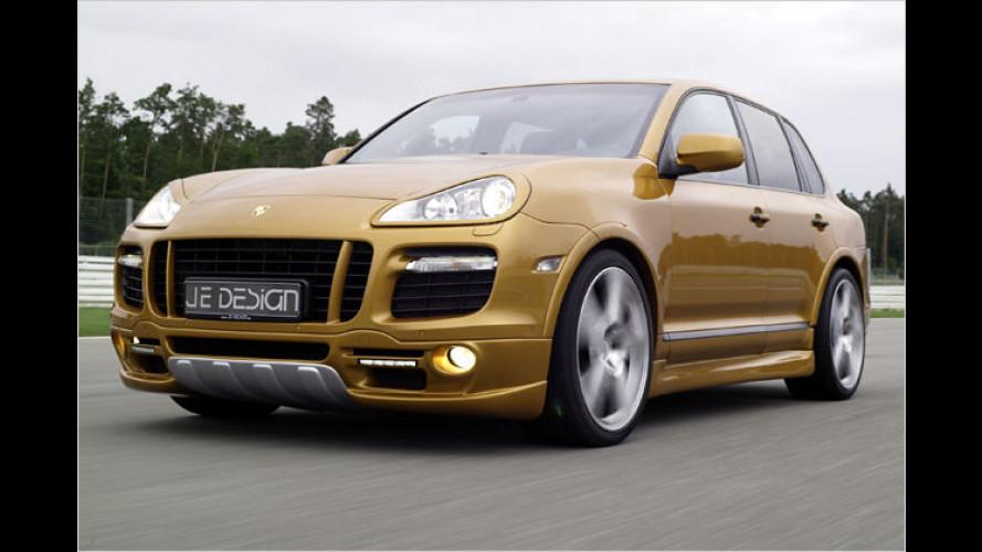 JE Design modifiziert das Power-SUV Porsche Cayenne