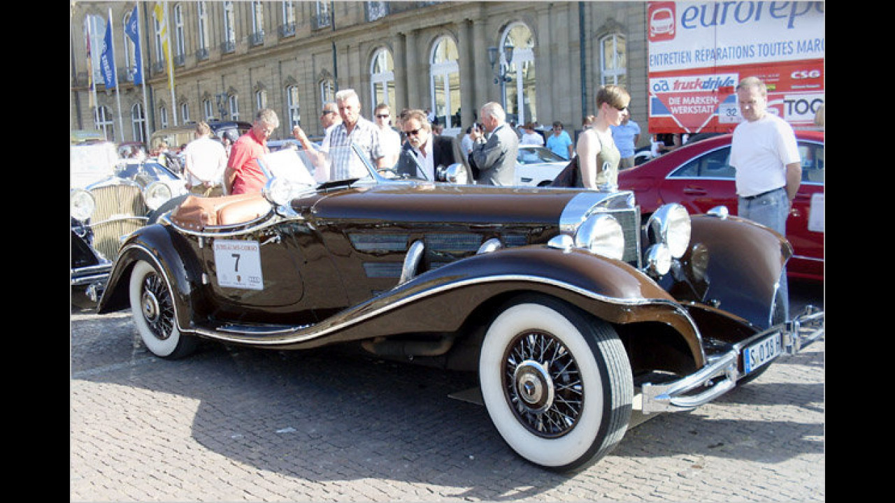 Mercedes Benz 500 K Luxus Roadster