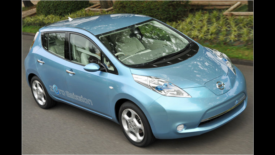 Nissan Leaf: Bezahlbares Blattwerk aus Fernost