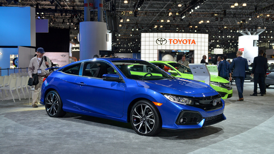 2017 honda civic si sedan and coupe starts 24 775. Black Bedroom Furniture Sets. Home Design Ideas