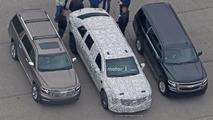 Cadillac Presidential Limo Spy Photos