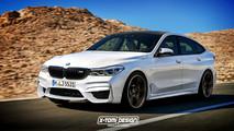 BMW M6 GT Rendering
