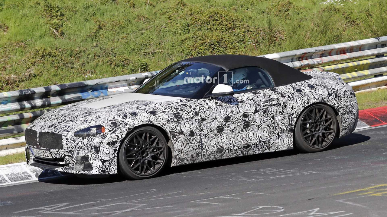 2019 Bmw Z4 New Spy Photos Motor1 Com Photos