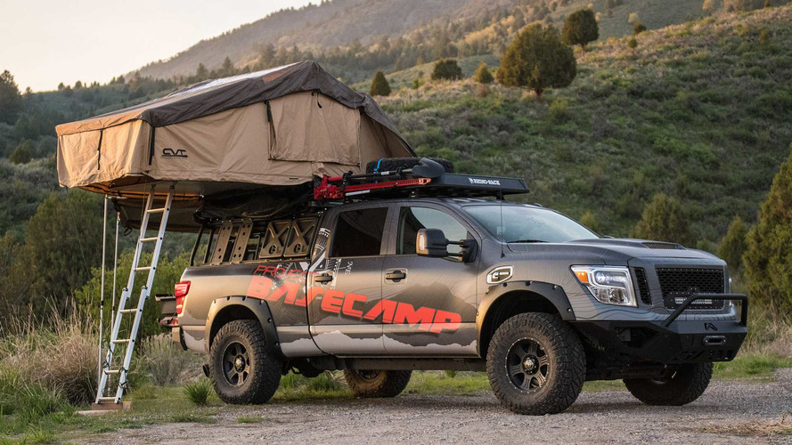 2017 Nissan Titan Xd Pro 4x Project Basecamp Photo Gallery