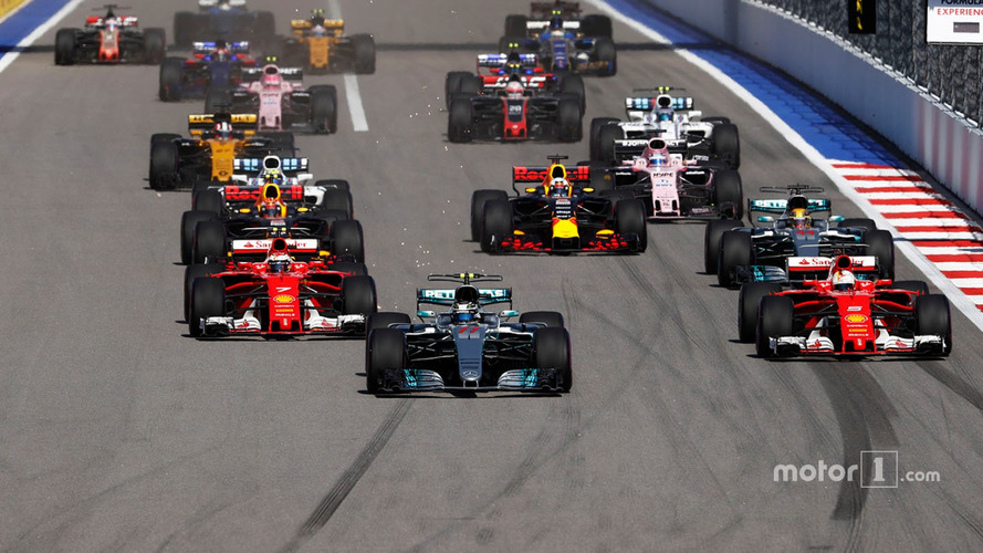 2017 F1 Russian Grand Prix – Race Results