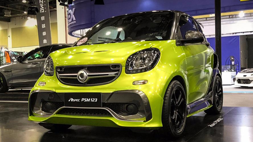Aspec PSM 123 - Une Smart Fortwo au look AMG