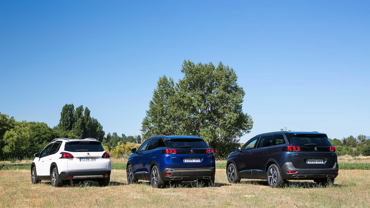 Gama SUV Peugeot 2017