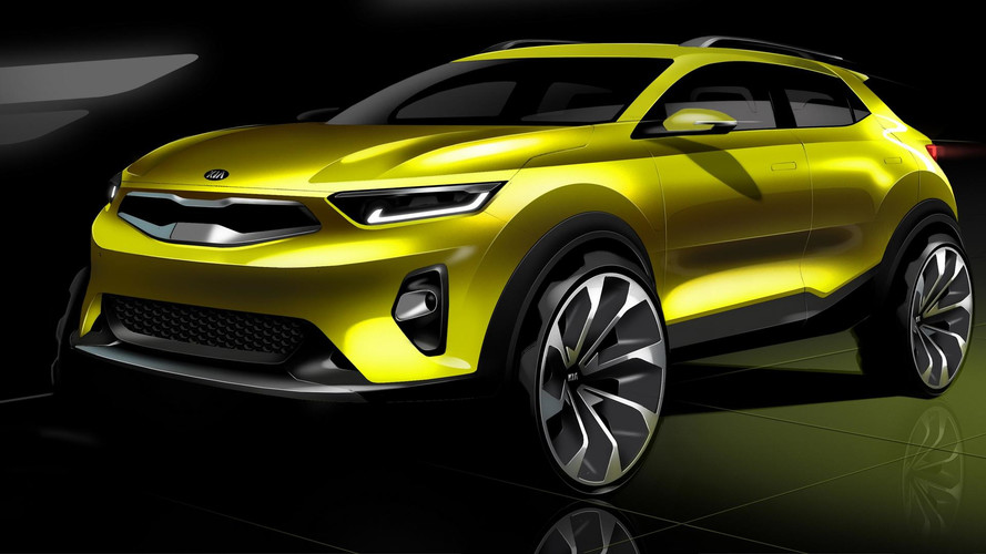 2018 Kia Stonic Teased In Promising Design Sketches