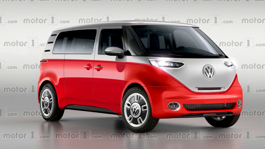 VW Bulli Reimagined As Zero-Emission Vintage Bus