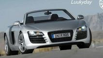 Audi R8 Convertible Rendering