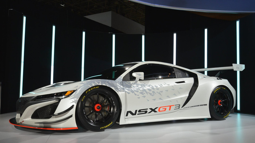 Acura NSX GT3 to make PWC test debut tomorrow