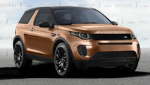 Baby Range Rover Evoque render by OmniAuto.it