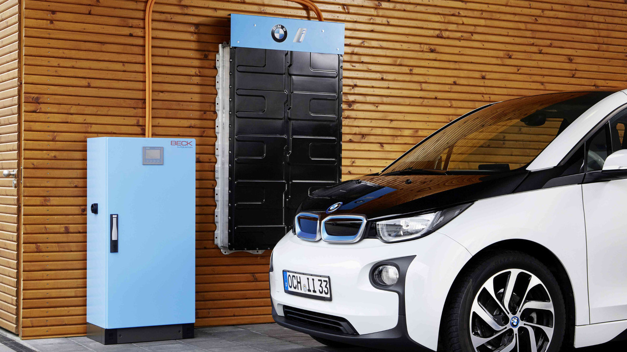 BMW Battery storage system