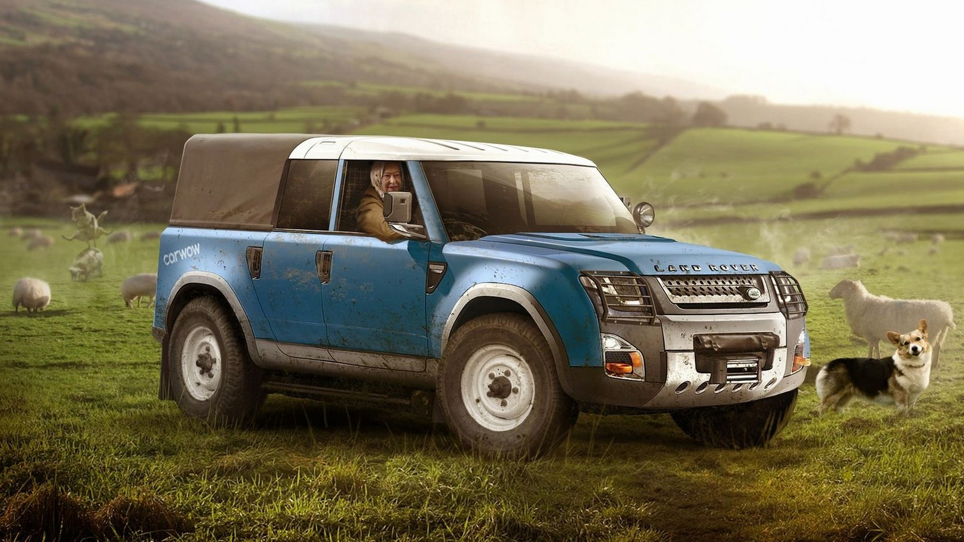 Land Rover Defender Usa >> 2019 Land Rover Defender rendered for various tasks