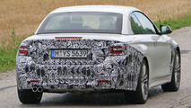 BMW 4-Series Convertible facelift spy photo
