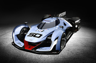 Hyundai Shocks and Awes With Le Mans-Inspired N 2025 Concept