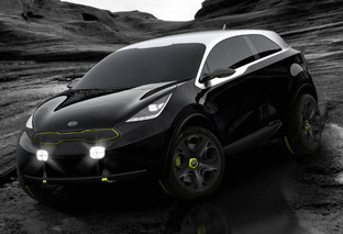 Kia Debuts Off-Roading Hatchback Concept