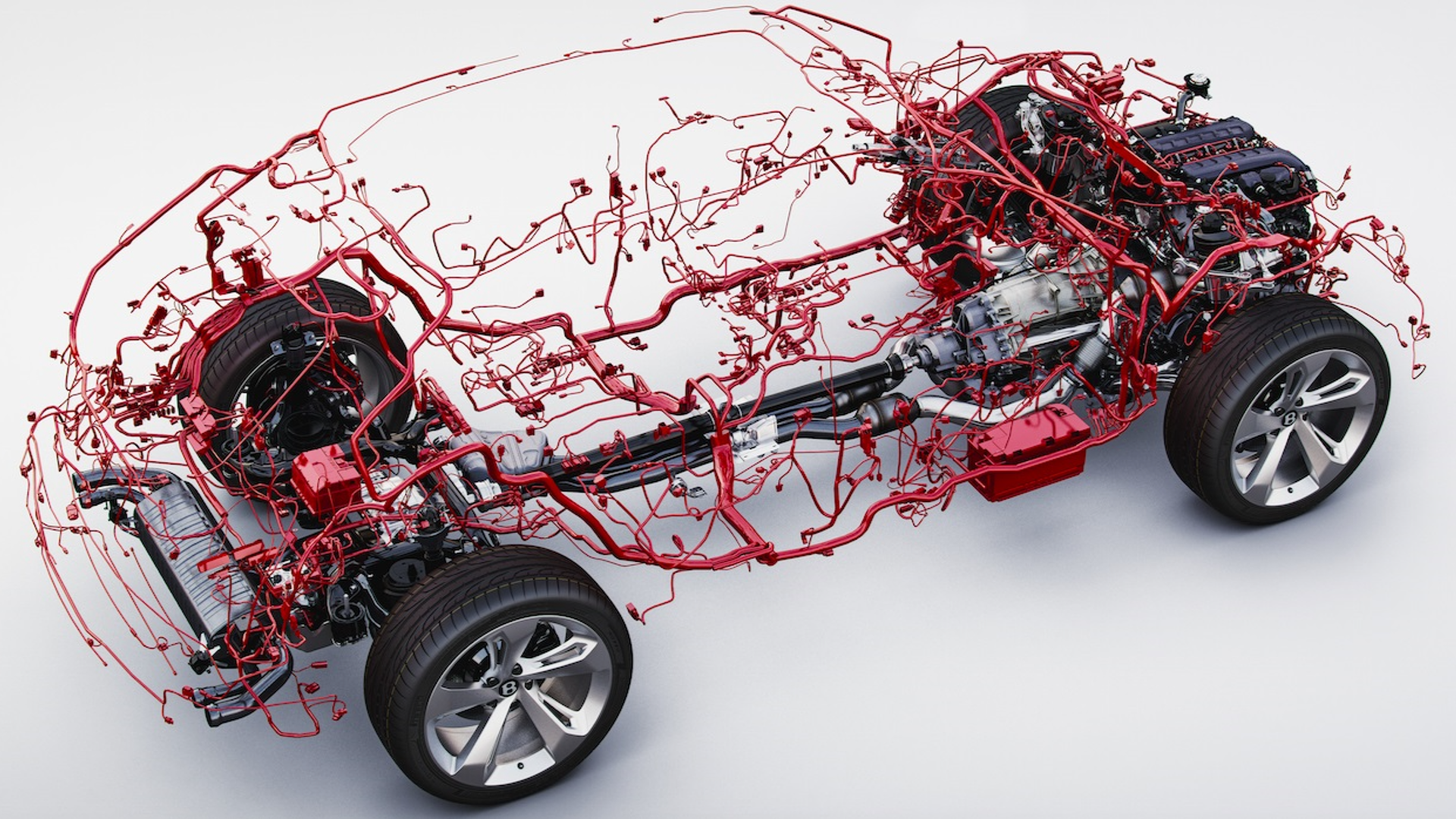 auto electrical wiring harness bentley bentayga wiring harness is weirdly beautiful