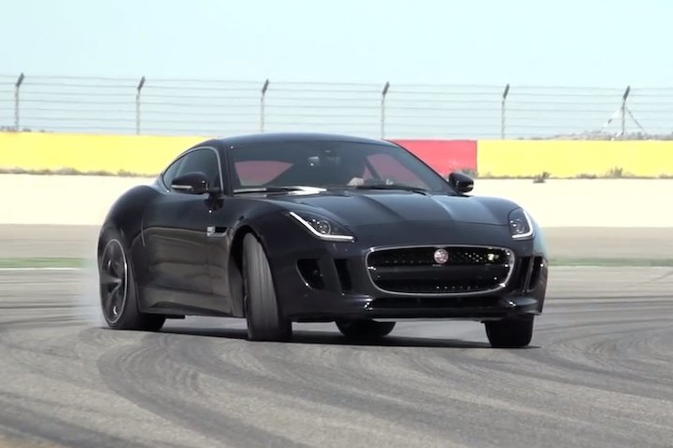 Chris Harris Flogs the 550HP Jaguar F-Type Coupe Into Submission [video]