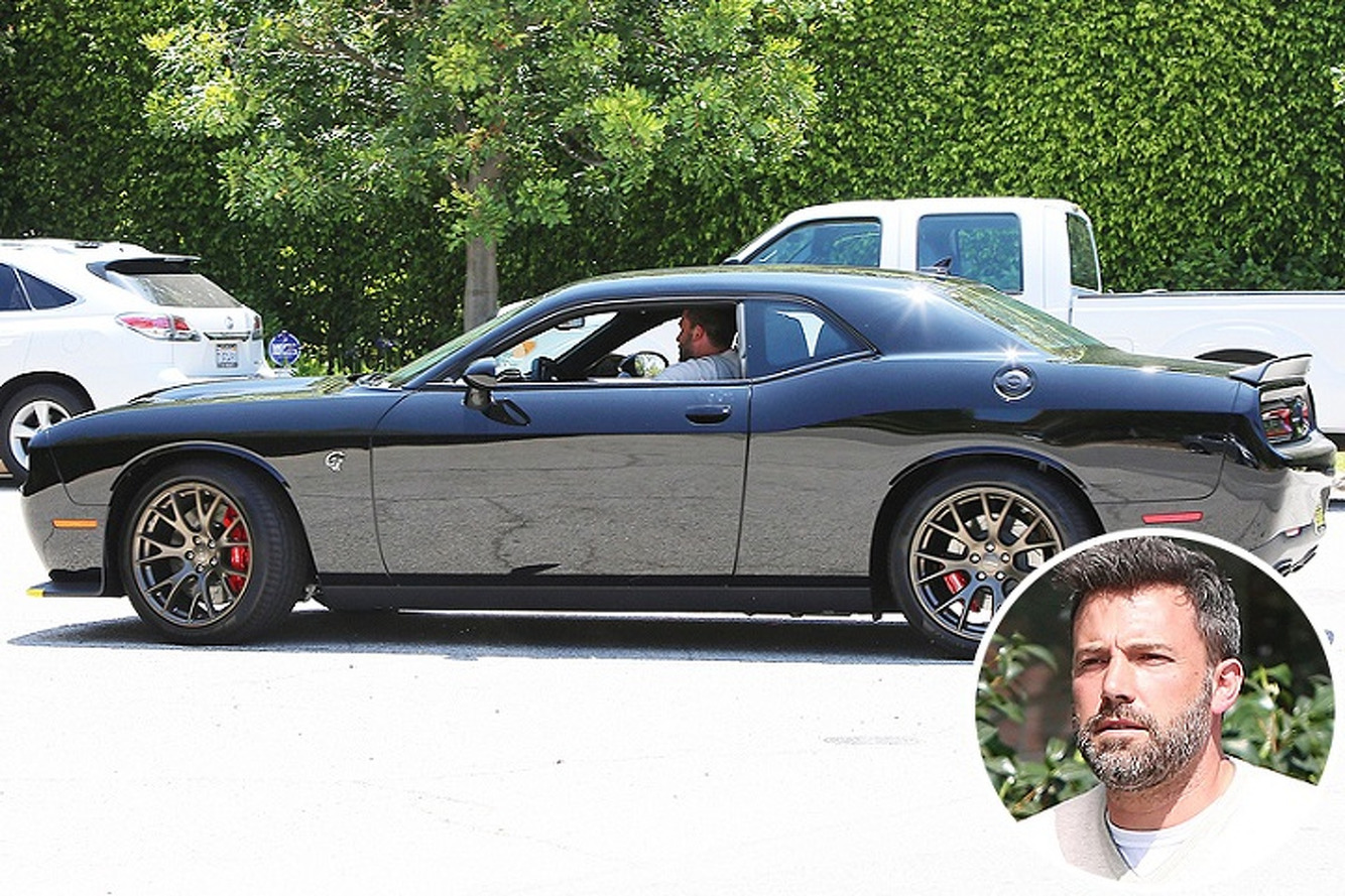 Ben Affleck's Real-Life Batmobile is a Dodge Challenger Hellcat