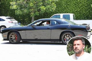 Ben Affleck's Real-Life Batmobile is a Dodge Challenger Hellcat