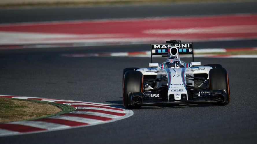 Williams fast, Red Bull slow on top speed chart
