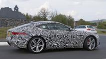 2017 Jaguar F-Type dört silindirli motor, casus fotoğrafları