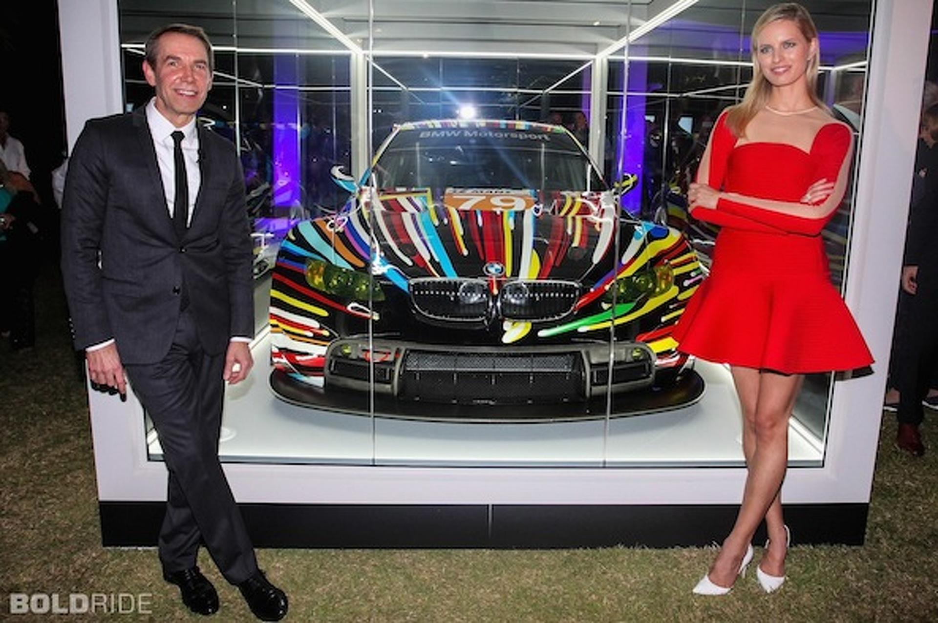 Jeff Koons BMW M3 Art Car Makes Bittersweet Debut in Miami