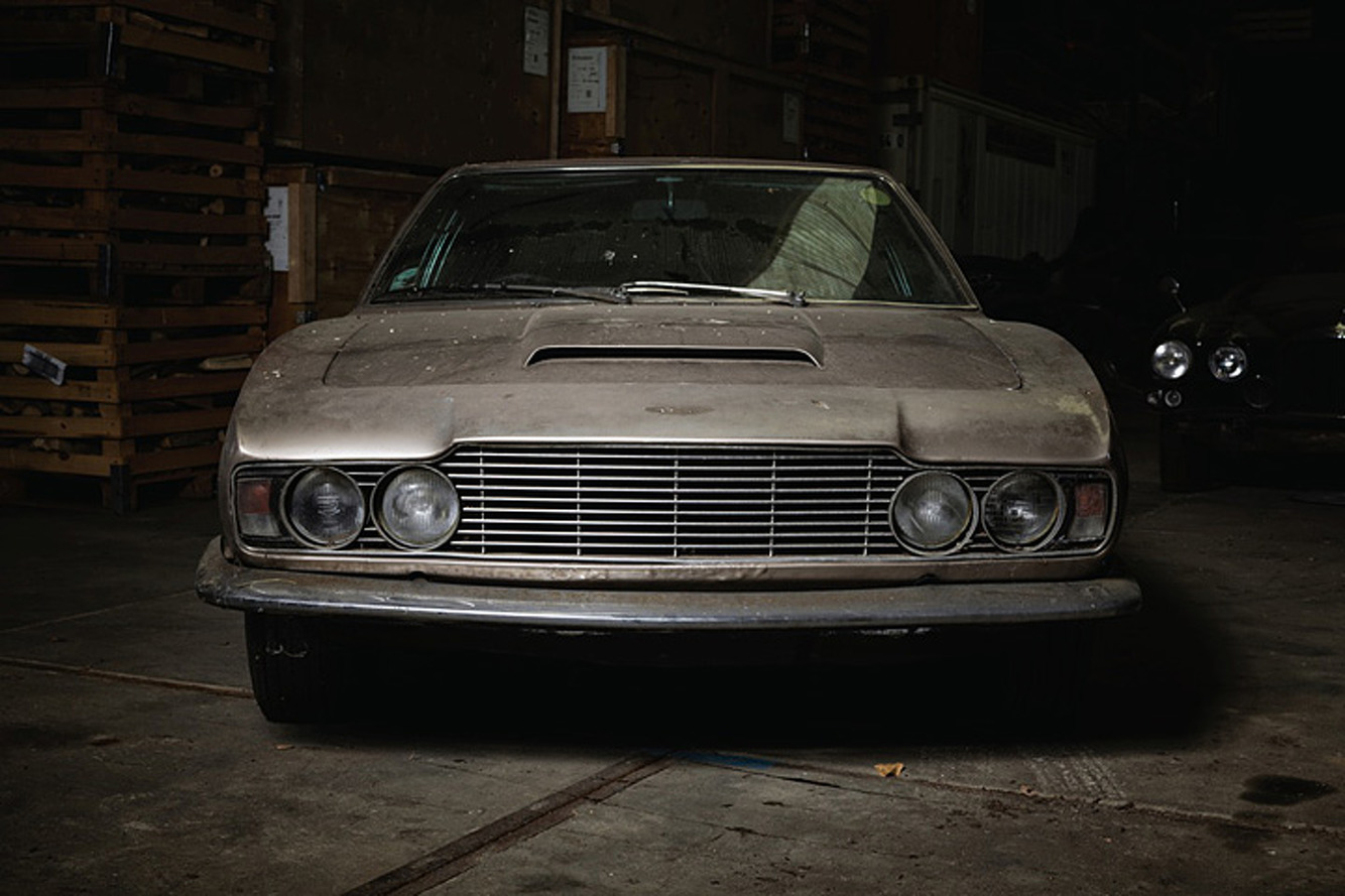 This Aston Martin DBS Has Lived in a Barn Since 1986