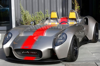 $55,000 Jannarelly Design-1 Roadster Shows Up in the Sheet Metal