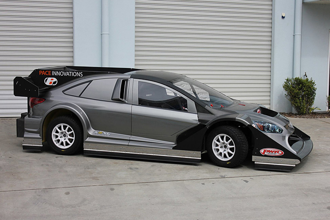 There's a Nissan GT-R Beneath This Ford Focus