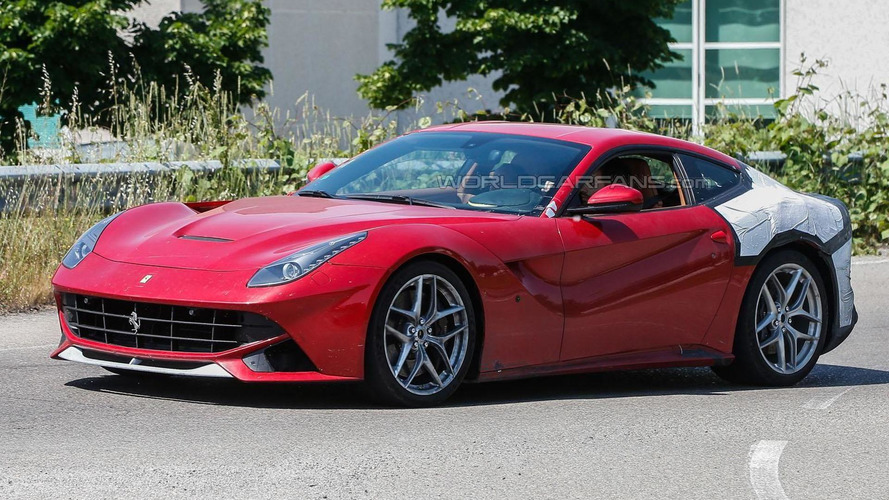 Ferrari F12 M spied for the first time