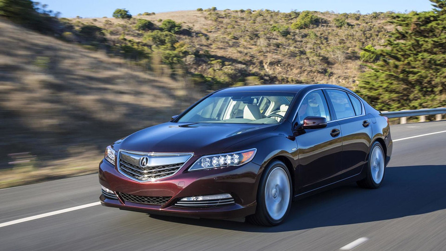 2016 Acura RLX Sport Hybrid unveiled with modest changes