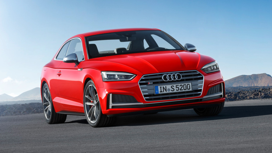 All-new Audi A5, S5 coupes revealed in Germany