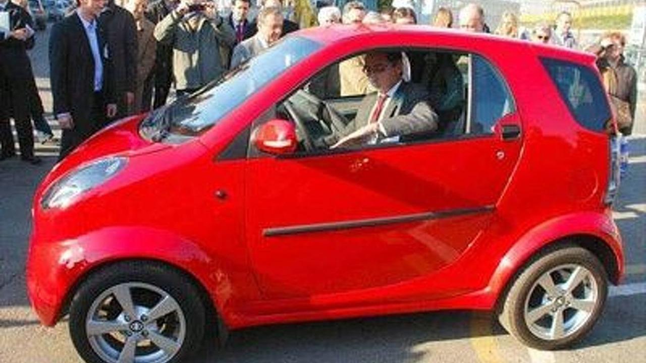 Bubble minicar