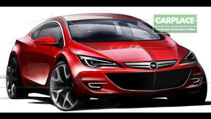 Opel Astra GTC - Marca confirma conceito do esportivo no Salão de Paris