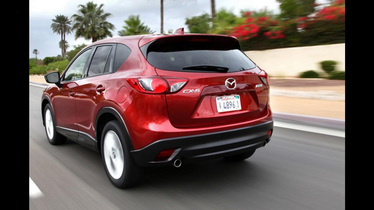 Mazda CX-5 Crossover tem preços a partir de R$ 37.035,00 nos Estados Unidos