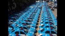 Viaturas: Mais 1.300 unidades do Logan são entregues à Polícia do Rio de Janeiro