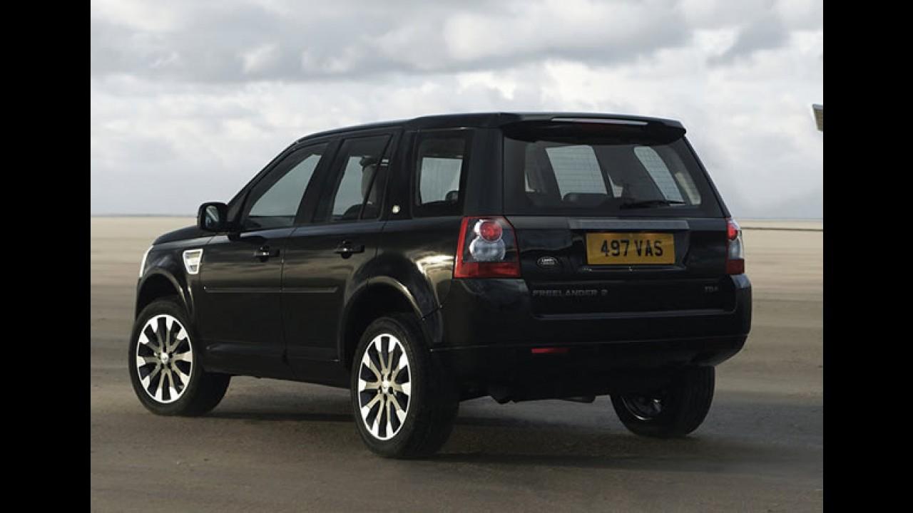 Land Rover comemora marca de 200.000 Freelanders produzidos