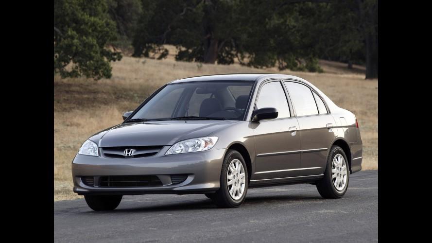 Honda chama 541 unidades do Civic 2006 para recall no Brasil