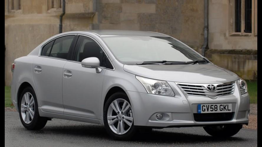 Toyota anuncia novo mega Recall global de mais 1,6 milhões de carros