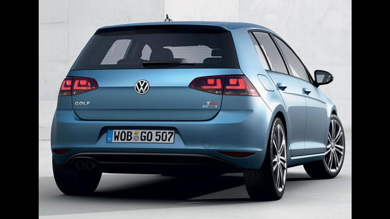 Saiba o que esperar do Novo VW Golf que será vendido no Brasil em 2014