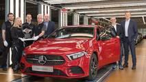 Production de la Mercedes Classe A à Rastatt (Stuttgart)