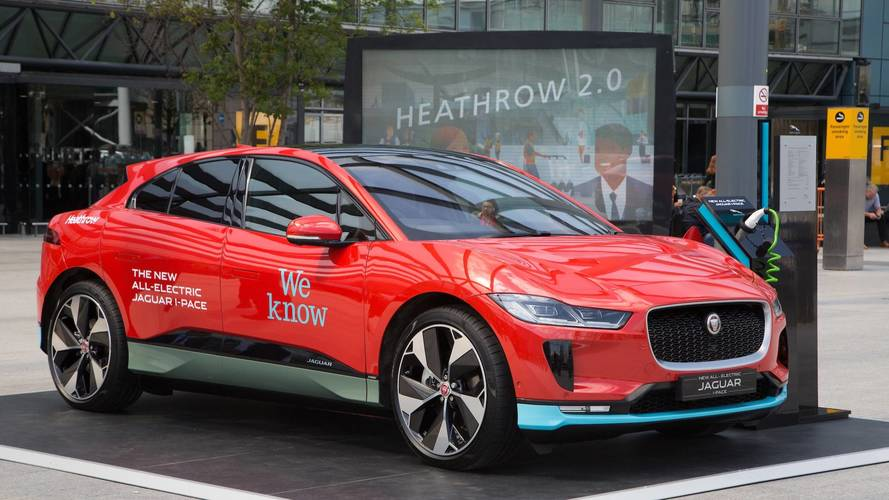 L'aéroport d'Heathrow commande 200 Jaguar I-Pace